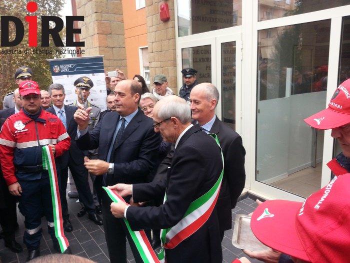 Roma1 all'inaugurazione del NUE 112