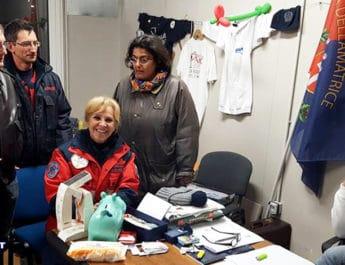 Volontari, tango e solidarietà per Amatrice