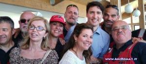 Il premier canadese ad Amatrice: ANC presente!