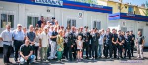 Con l'Arma dei Carabinieri per Amatrice