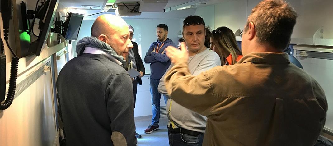 """Centrale Operativa Mobile """"Roma1"""" presentata in Regione"""