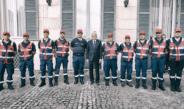 Il saluto di Mattarella ai volontari dell'Associazione Nazionale Carabinieri